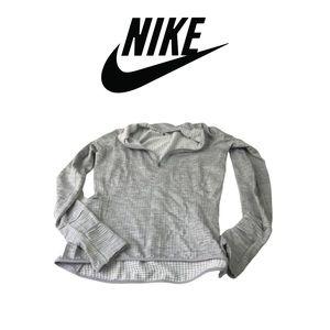 Grey Athletic Jacket By Nike Sz XS